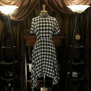 Cute asymmetrical dress